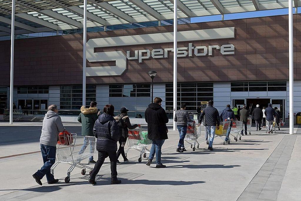 Italy catat 366 kematian; kes jangkitan naik hampir tiga kali ganda