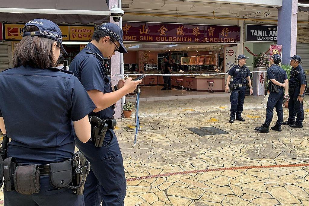 Rantai $3,000 dicuri dari kedai emas di Bt Merah