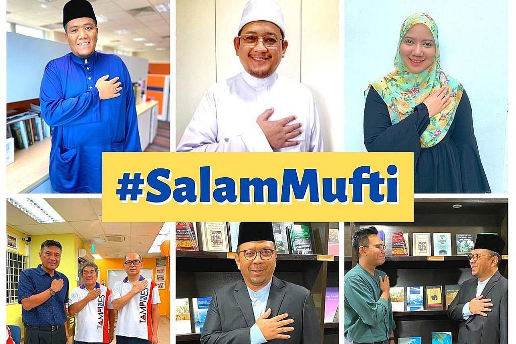 Sahut seruan, sertai 'gerakan' #SalamMufti