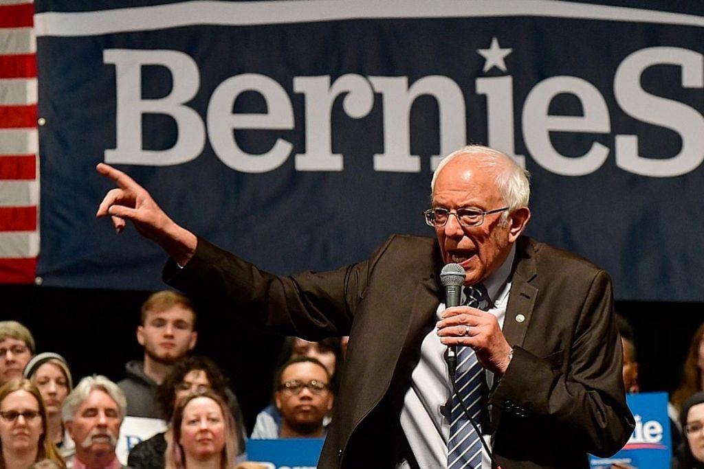 Biden dahului Sanders dalam undian enam negeri