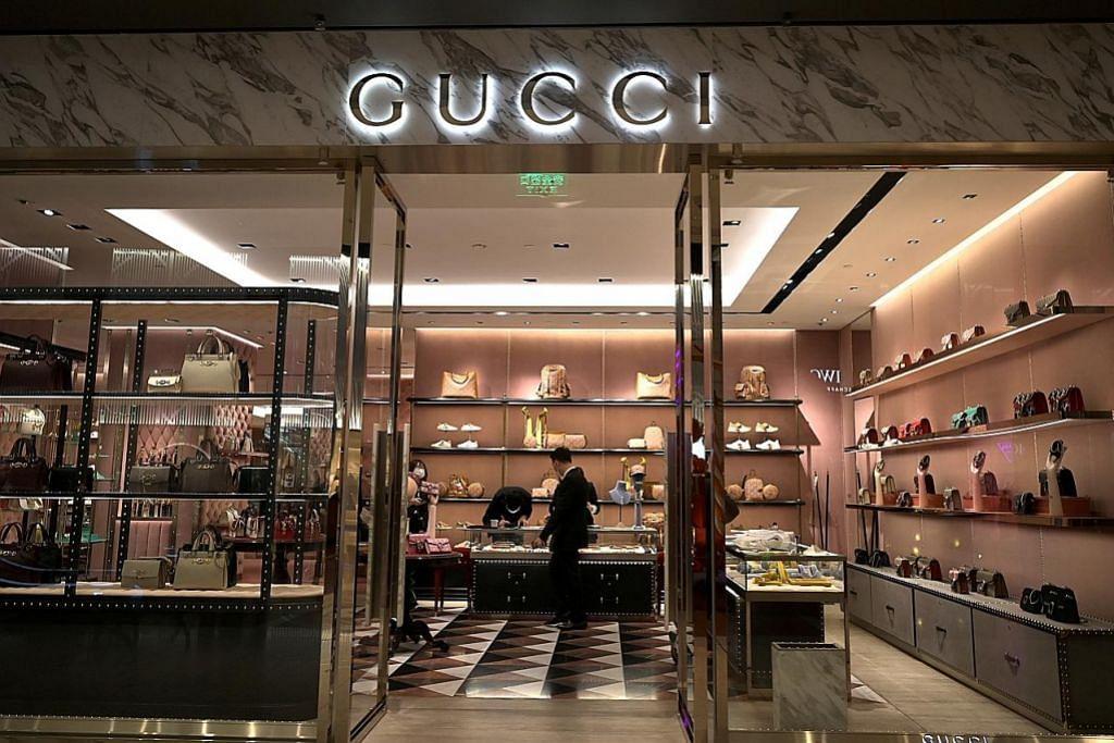 Perniagaan jenama fesyen mewah Italy terjejas