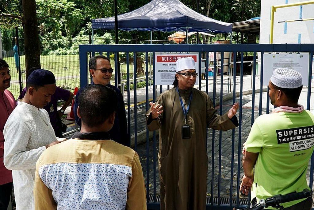 Proses pembersihan dan menyahjangkit dipergiat susuli penutupan masjid
