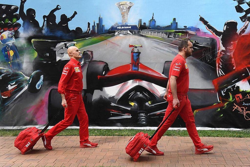 Grand Prix Australia dibatalkan saat akhir dek koronavirus