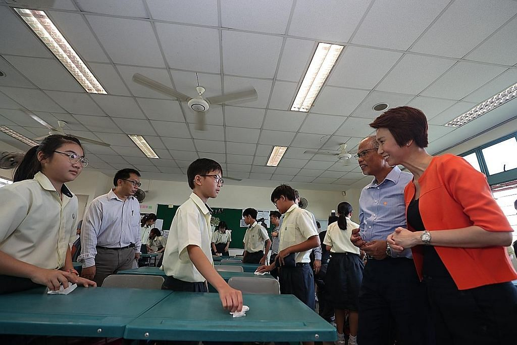 Lebih 95 peratus sekolah di S'pura bersijil SG Clean