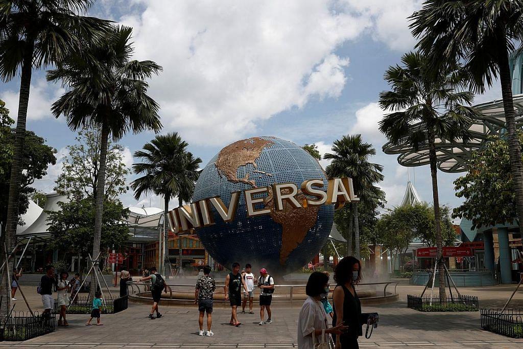 Taman bertema Universal Studios Singapore  - Foto fail
