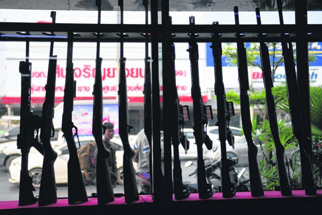 Isu milik senjata api Thailand jadi perhatian