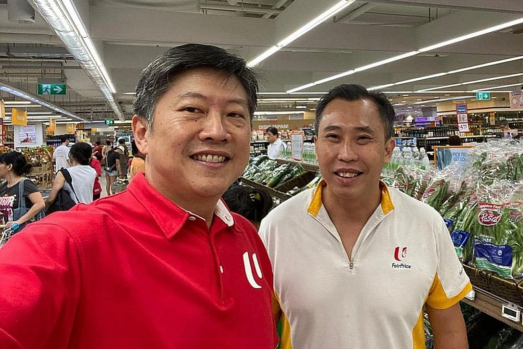FairPrice had pembelian; Chee Meng gesa orang ramai beli apa yang perlu sahaja