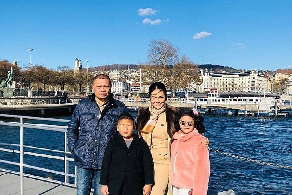 'Netizen' kritik percutian Krisdayanti dan keluarga di Switzerland