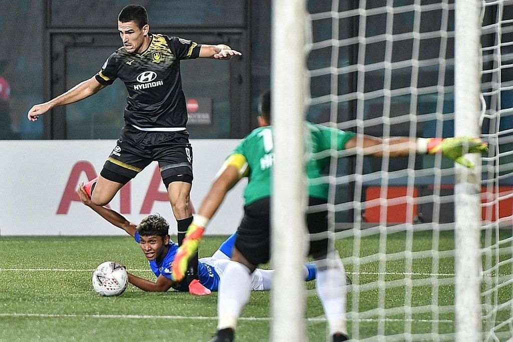 Lion City Sailors tenggelam 4-0 di tangan Tampines Rovers