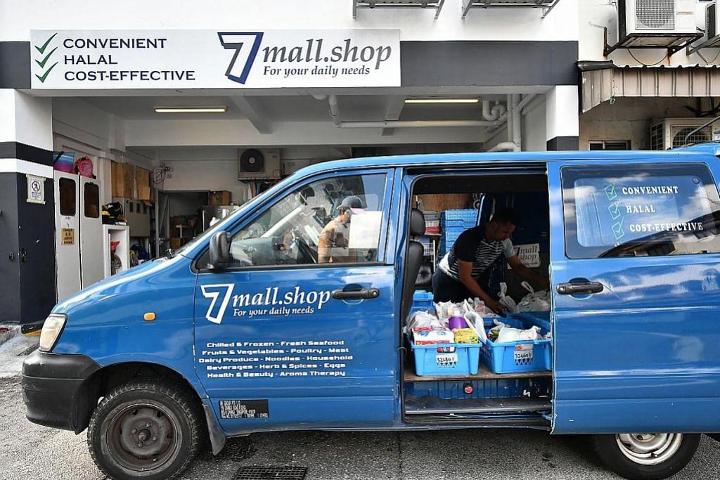 Tempahan barang keperluan melalui e-dagang meningkat