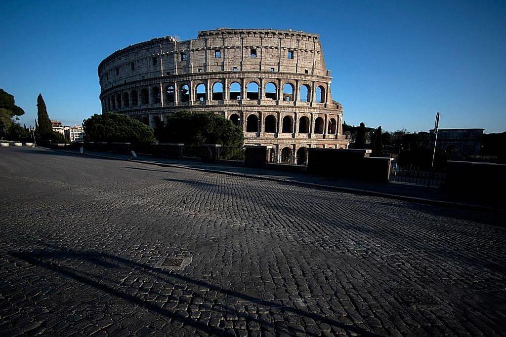Italy larang perjalanan dalam negara demi bendung virus