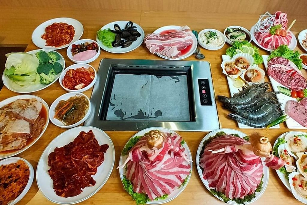 Hanssik Halal Korean BBQ Buffet kian popular