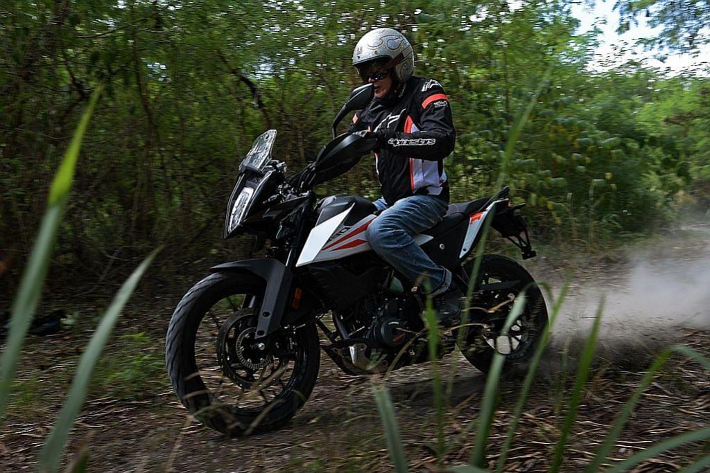 KTM 390 Adventure bawakan kembara lasak dengan bajet rendah
