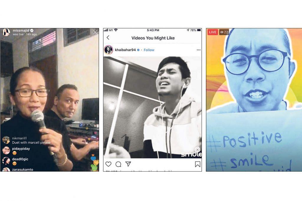 Sheila Majid antara artis 'berkonsert' di media sosial