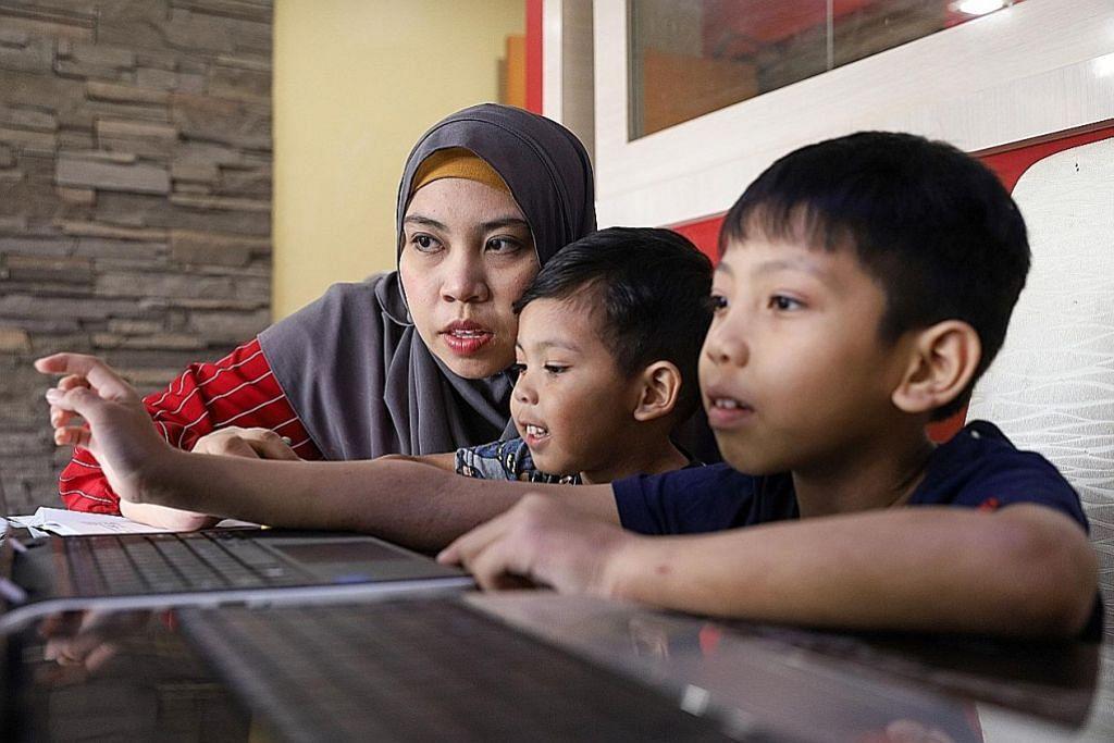 Ibu dapat habiskan masa kualiti bersama anak-anak, selia pelajaran mereka