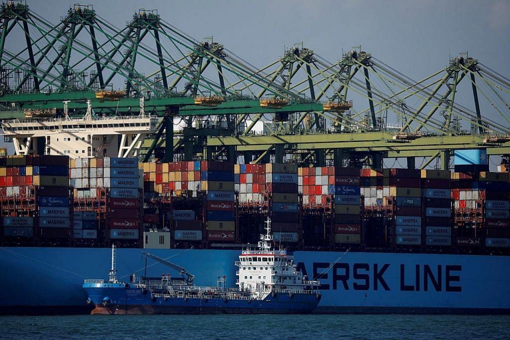 Eksport bukan minyak S'pura lonjak 17.6% bulan lalu