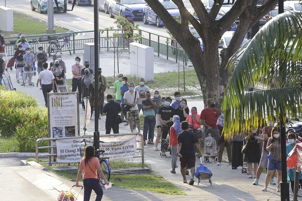 Pasar Geylang jadi tumpuan jelang Ramadan, AP gesa lawat pasar dekat rumah bagi elak sesak