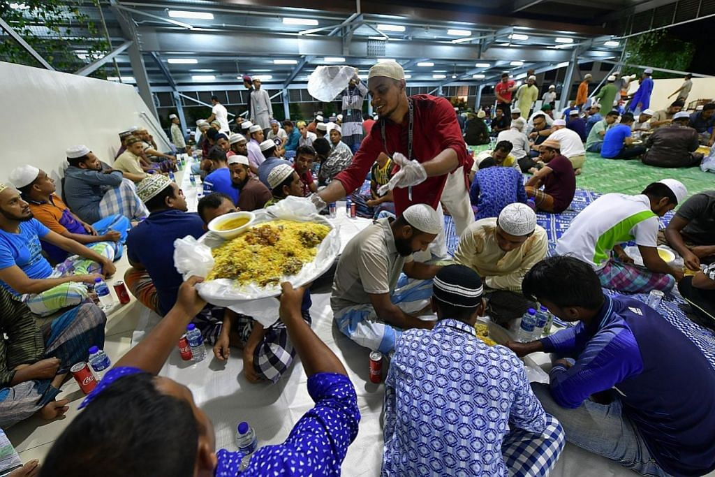 Persiapan Ramadan bantu pekerja asing di asrama