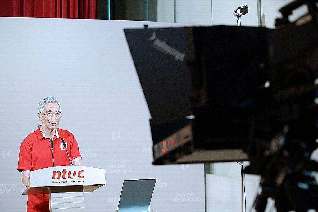 PM Lee: Buka semula ekonomi secara berperingkat bila kes Covid-19 merosot
