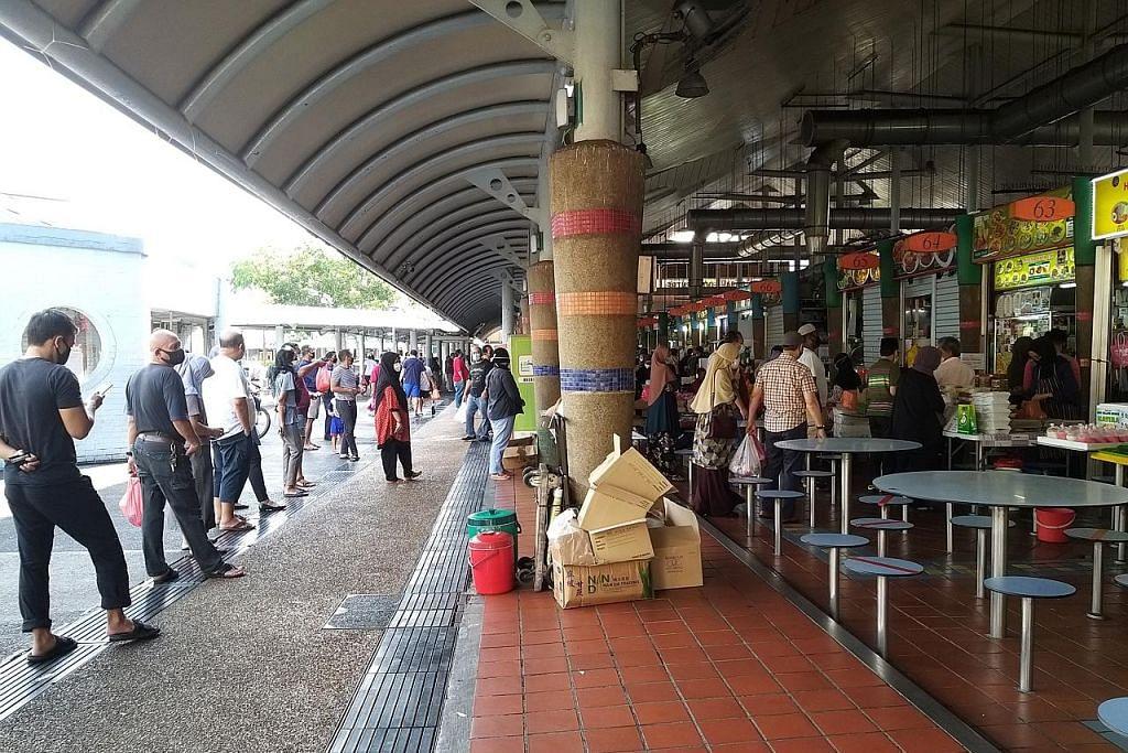 Tiada bazar, gerai popular tetap jadi tumpuan beli juadah berbuka