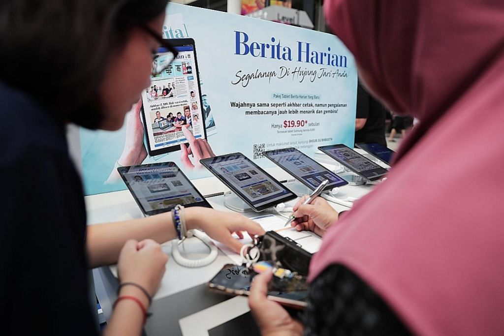 Pelanggan produk cetak, digital SPH meningkat