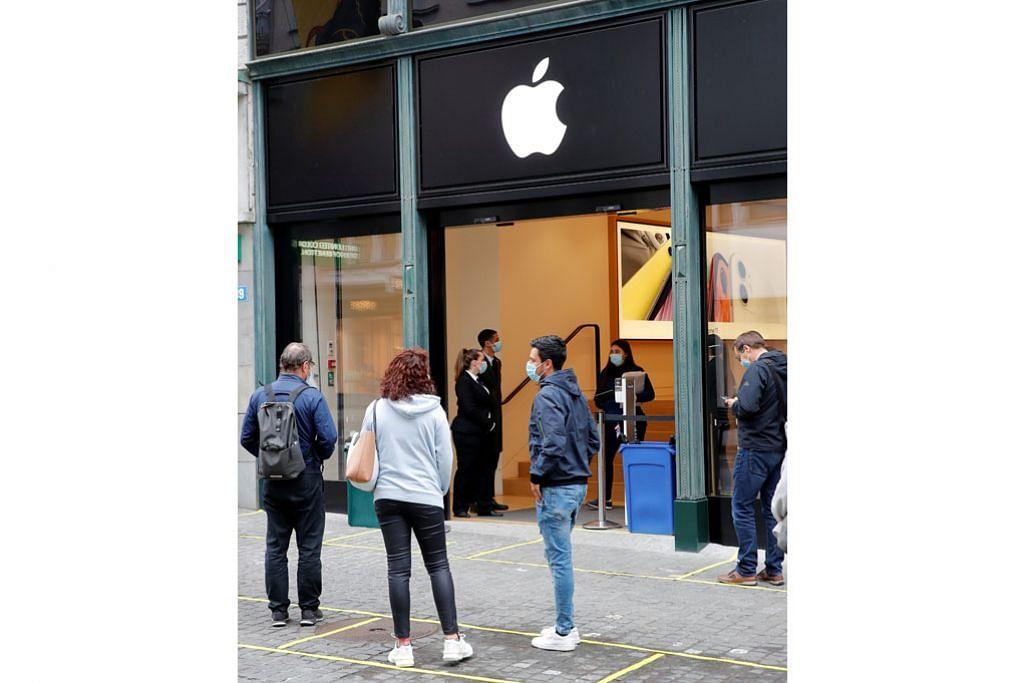 Permintaan khidmat Apple TV semasa Covid-19 dorong laba Apple