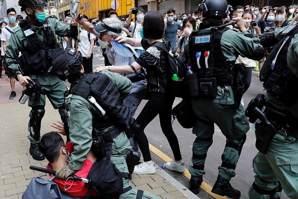 Trump teroka sekatan ke atas China dek isu autonomi Hong Kong