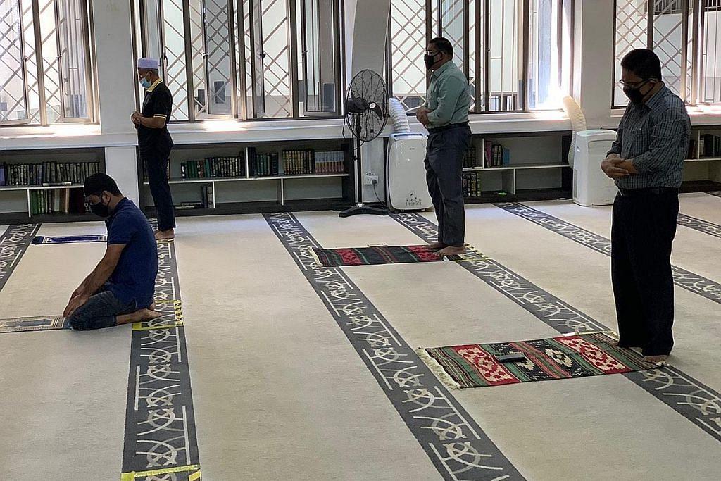 Fahami kaedah ibadah baru pabila masjid dibuka di era wabak