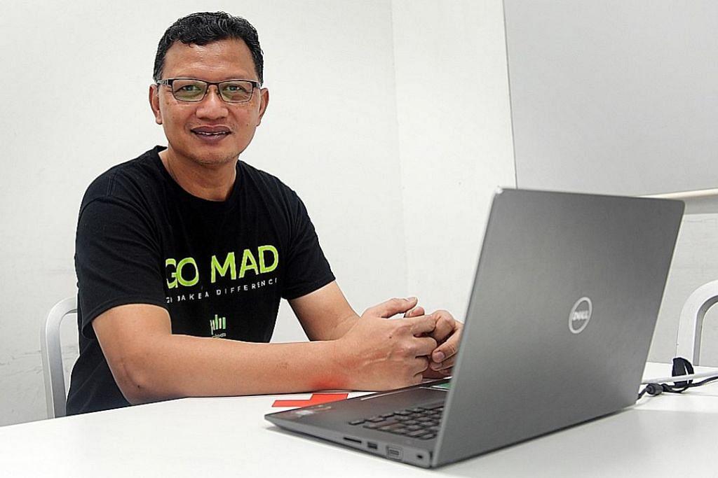 Pelajari robotik pada usia 53 tahun