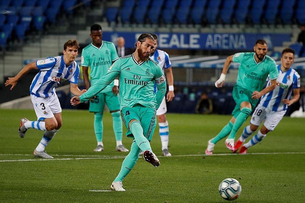 Inter naik tangga ketiga Serie A, Real Madrid di takhta La Liga