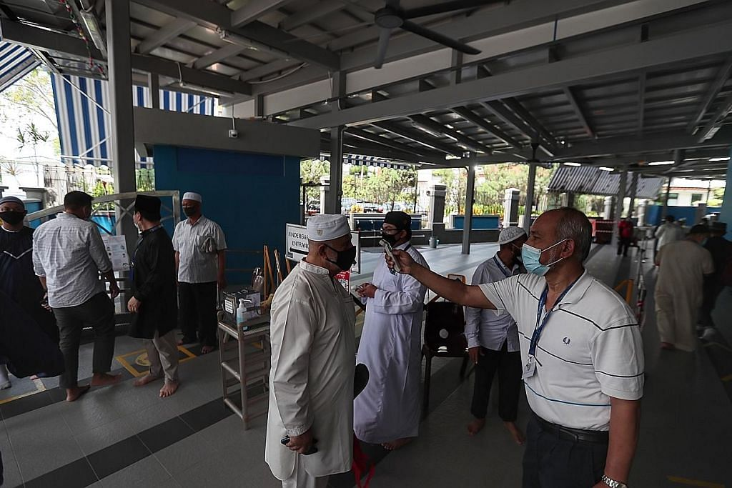 Masjid dibuka semula bagi solat Jumaat