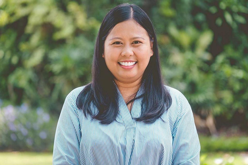 Mariam Jaafar: Konsultan perniagaan berusia 43 tahun ini mencerminkan kemampuan rakyat yang berjaya makmur bersama negara. Beliau antara 10 muka baru wanita PAP dalam pilihan raya ini. - Foto-Foto BH oleh GAVIN FOO, ZAOBAO & PAP