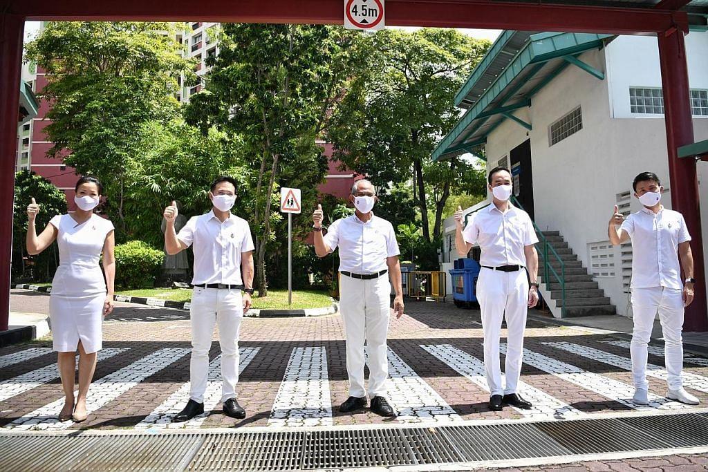 Masagos terajui pasukan pertahan GRC Tampines
