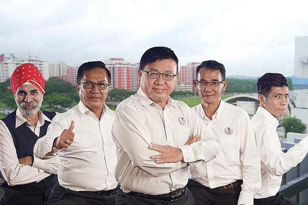 Persaingan tiga penjuru bagi GRC Pasir Ris-Punggol