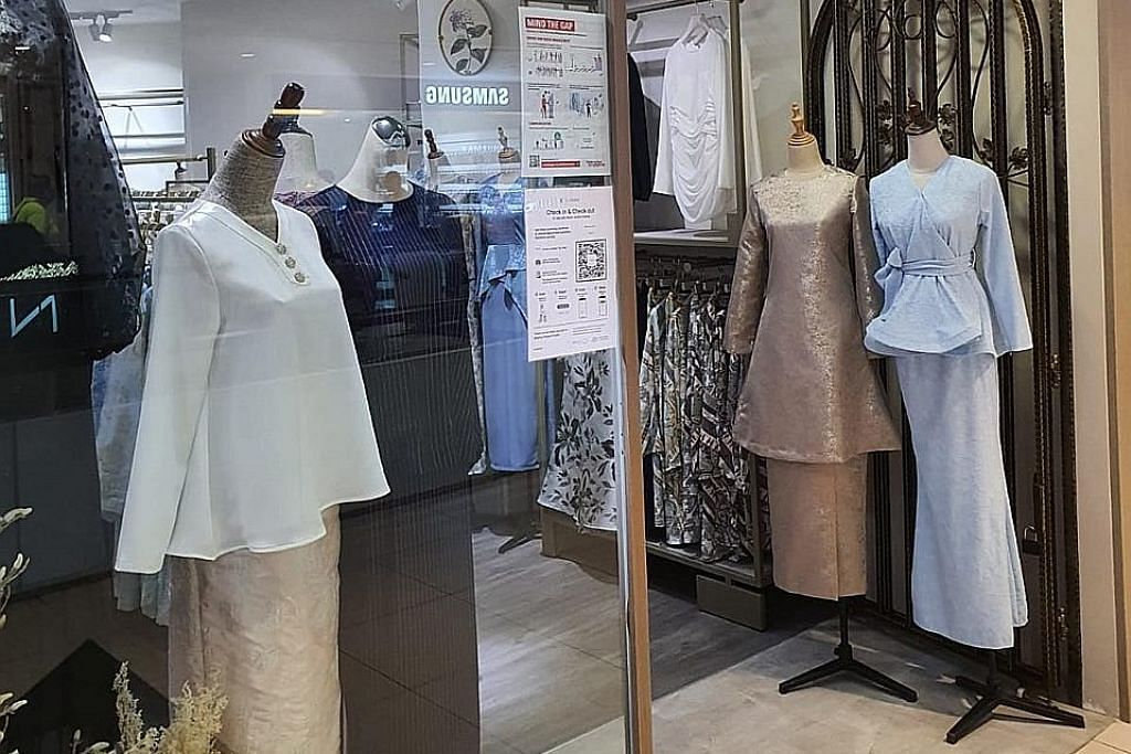 Gembira kedai di Tampines Mall dan Northpoint dibuka semula tetapi...