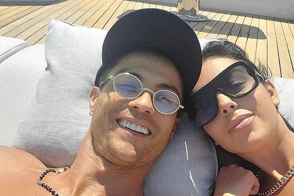 Ronaldo, kekasih curi tumpuan cuti mewah