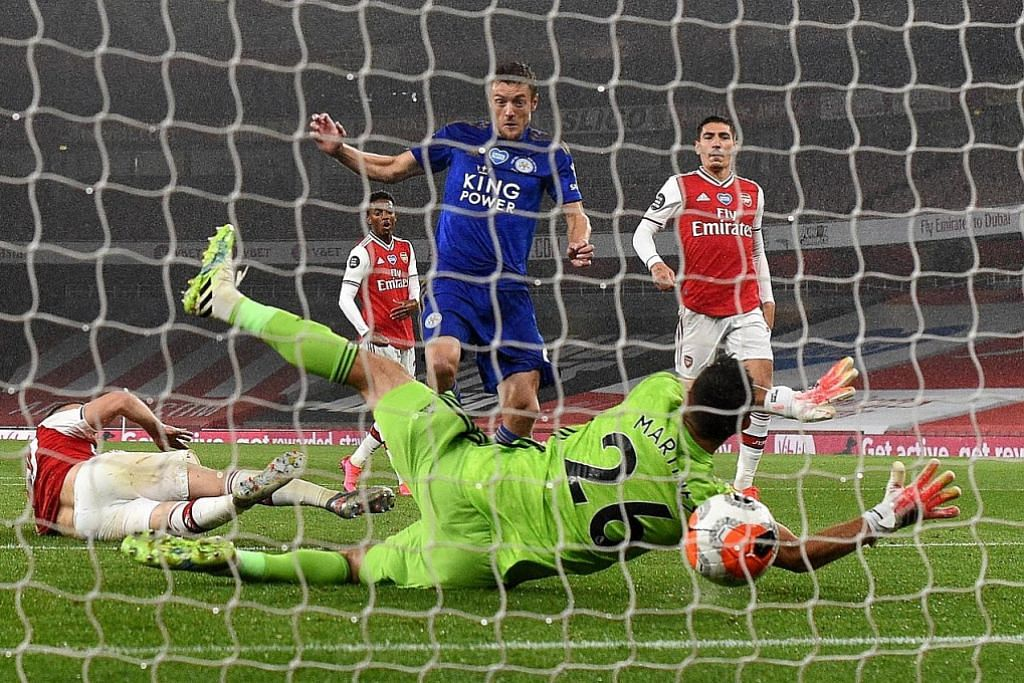 Leicester sekat kemaraan Arsenal
