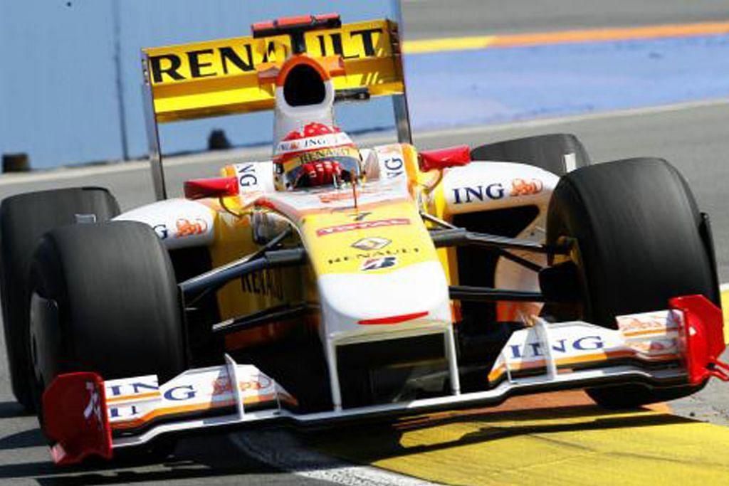 Alonso masuk litar semula bagi Renault musim 2021