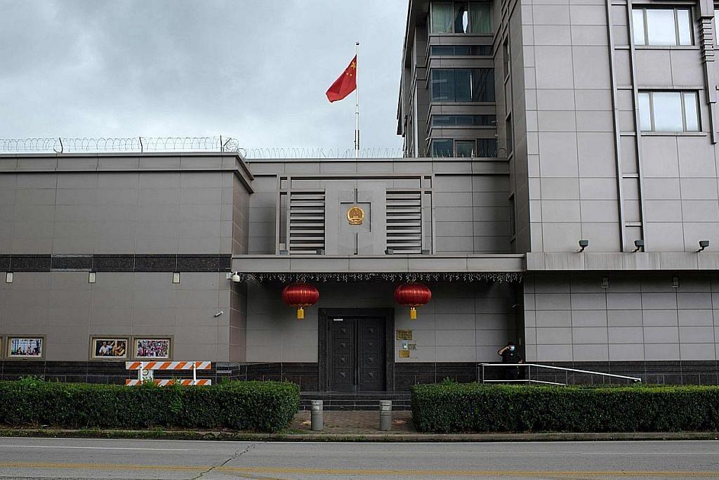 Konsulat China di Houston diarah tutup dek dakwaan kegiatan intip