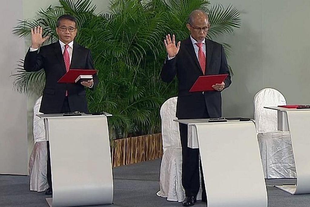 Raikan bersama Sepadu: Menteri baru dan menteri mapan