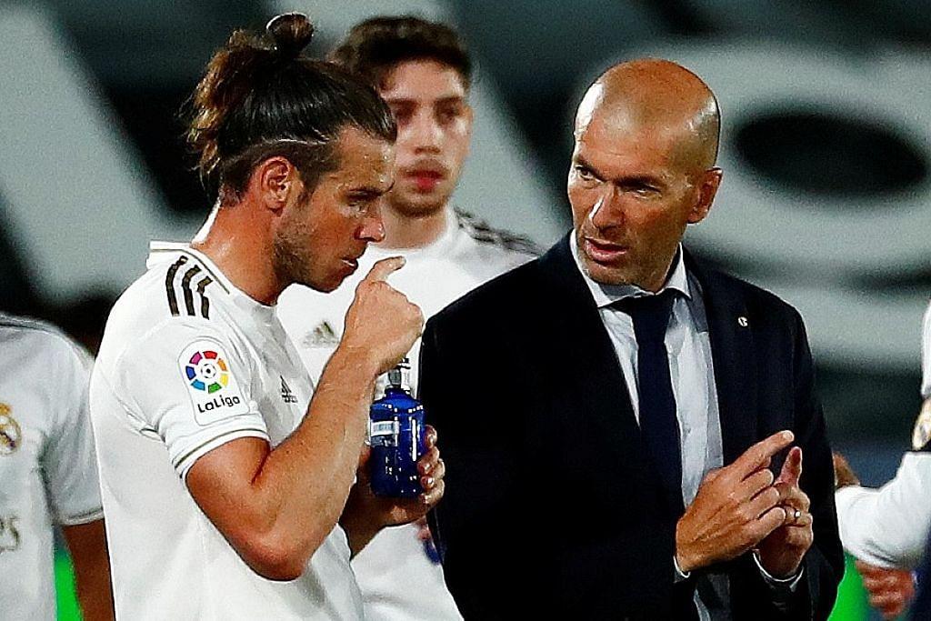 Bale digugur daripada skuad Real bagi menentang Man City