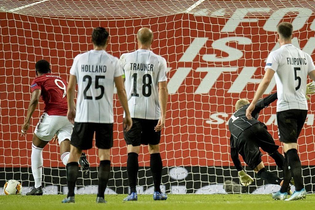 United tempah tempat suku akhir Liga Europa