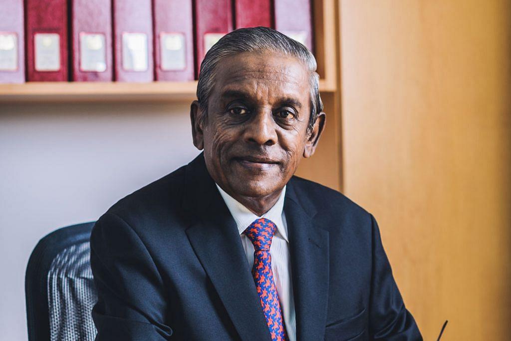 Mantan DPM Jayakumar terima anugerah tertinggi