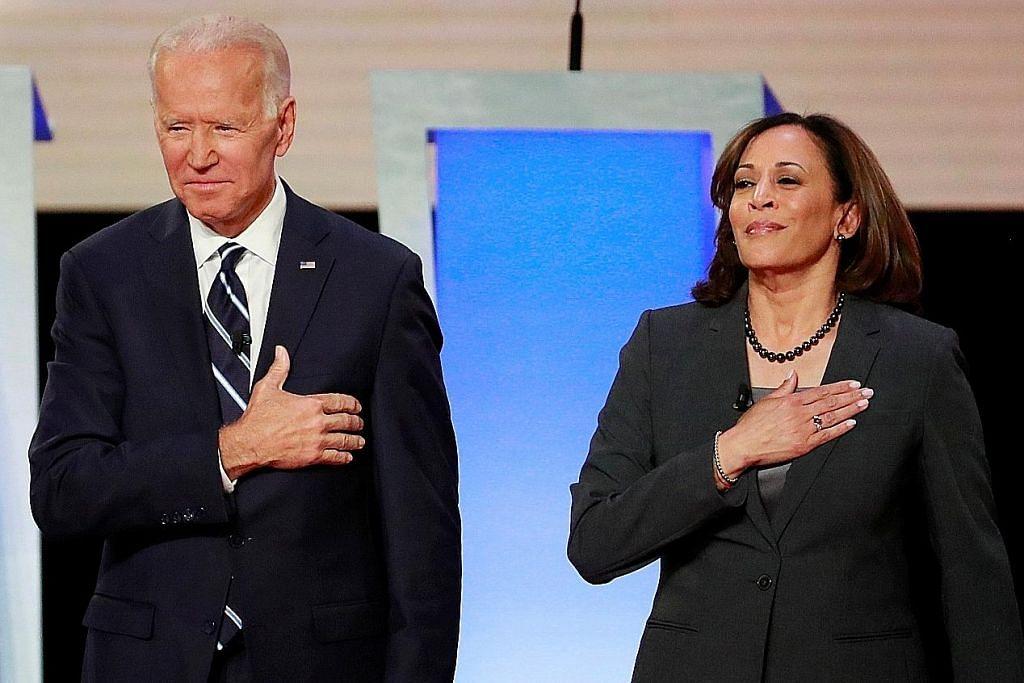BERITA MENJELANG PILIHAN RAYA PRESIDEN AMERIKA SYARIKAT Biden umum senator wanita bukan kulit putih calon naib presiden