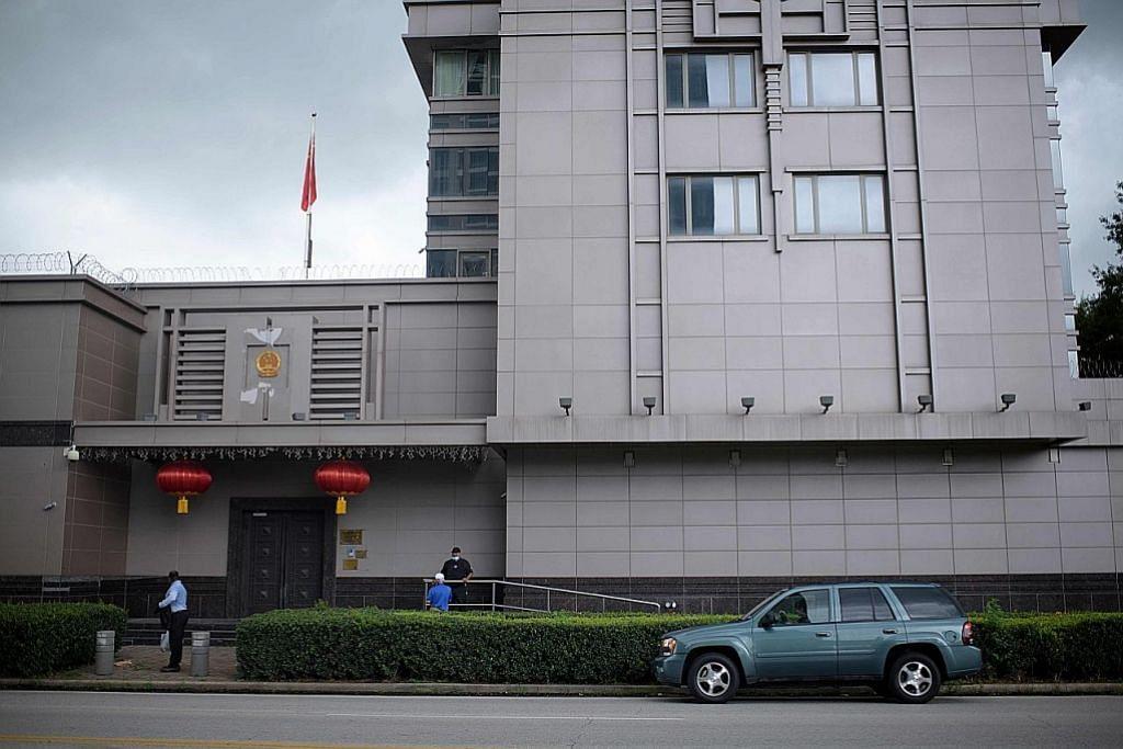 HUBUNGAN AMERIKA-CHINA Amerika dedah FBI sudah lama pantau konsulat China di Houston
