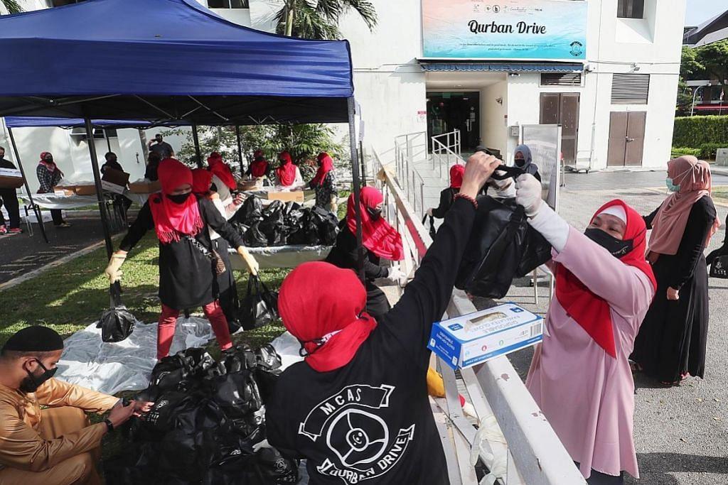 Agihan daging korban 'Qurban Drive' manfaat sekitar 750 keluarga