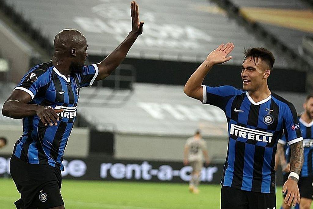 Piala Europa: Inter Milan mara ke final lepas tundukkan Shakhtar 5-0