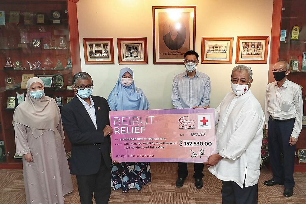 RLAF kumpul lebih $152,000 bantu mangsa letupan Beirut