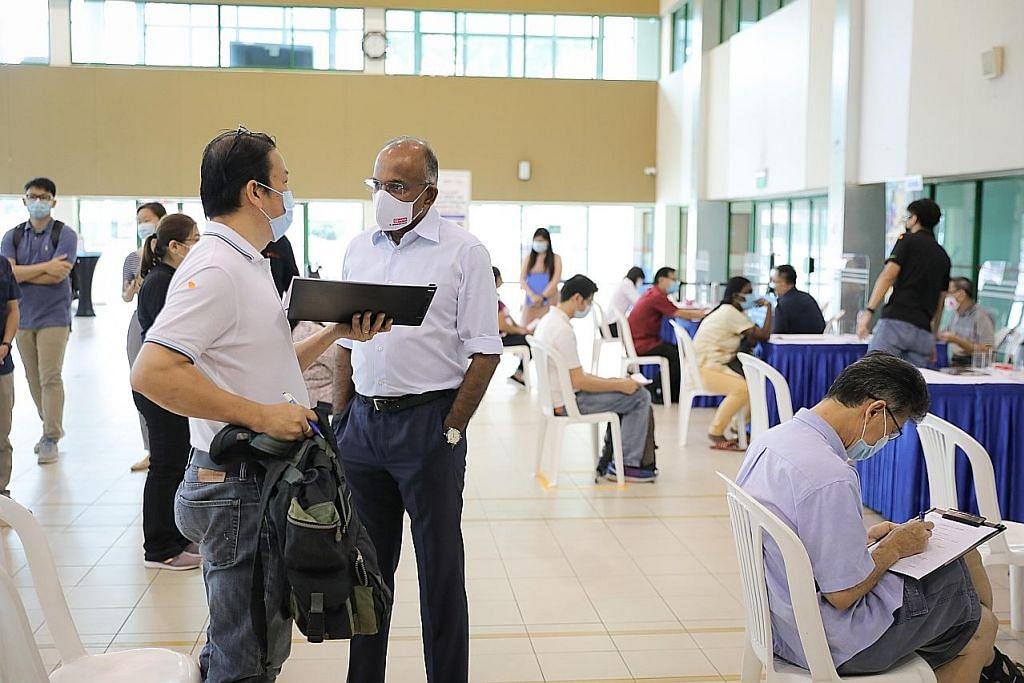 Bantuan cari kerja bagi penduduk Nee Soon