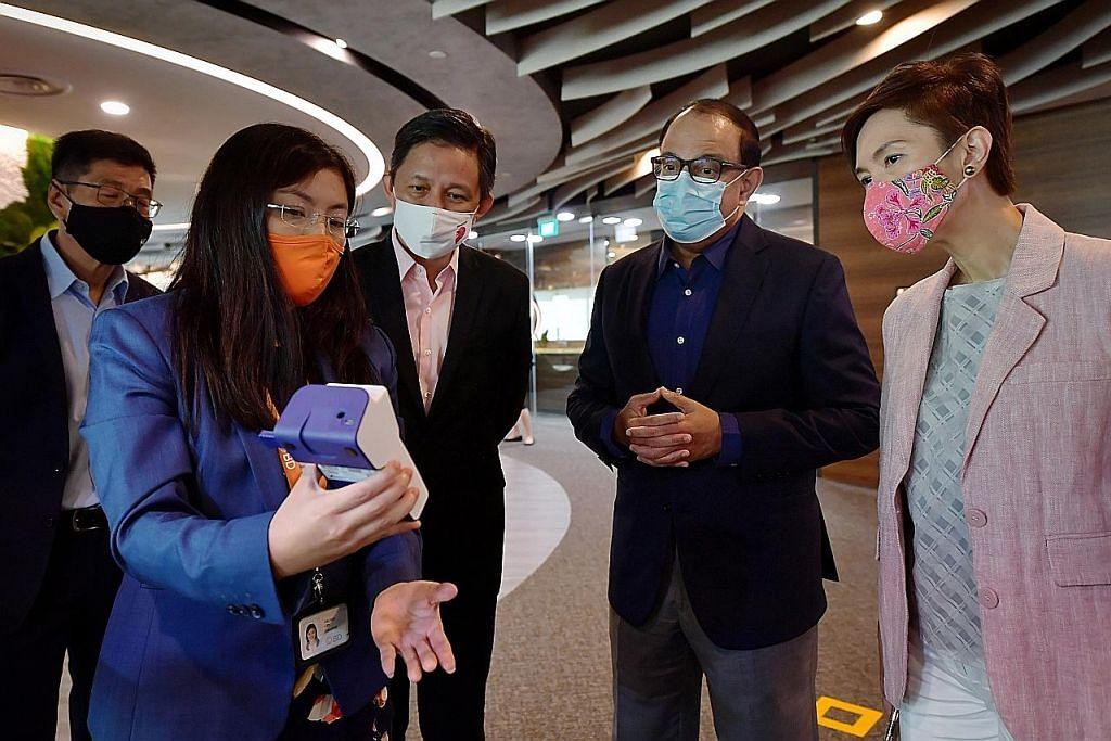 Lebih bantuan bagi warga ceburi sains bioperubatan: Josephine Teo